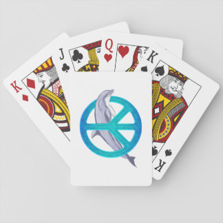 Dolphin Peace Deck Of Cards