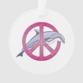 Dolphin Peace Pink
