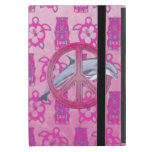 Dolphin Peace Pink iPad Mini Case