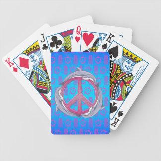 Dolphin Peace Pink Card Decks