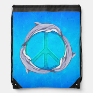 Dolphin Peace Backpack