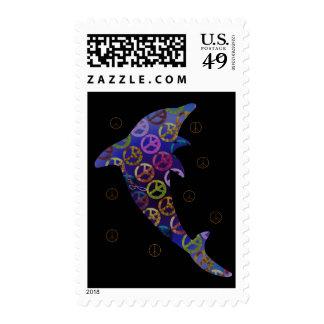Dolphin Peace Thursday Postage