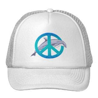 Dolphin Peace Trucker Hat