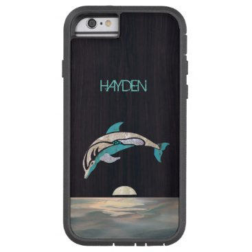 Beach Themed Dolphin Phone Case