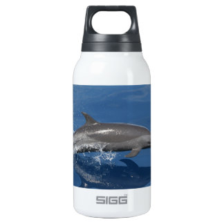 Dolphin Photo Insulated Water Bottle