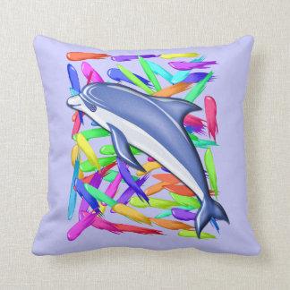 Dolphin pillow - beach theme