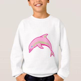 Dolphin Pink & Green Sweatshirt