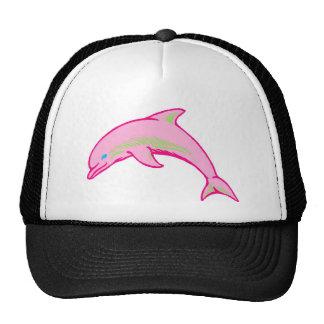 Dolphin Pink & Green Trucker Hat