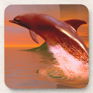 Dolphin Planet Beverage Coaster