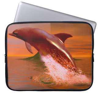 Dolphin Planet Computer Sleeve