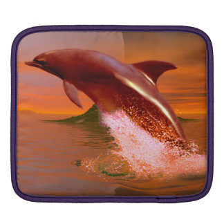 Dolphin Planet Sleeve For iPads