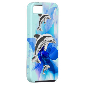 Dolphin Play iPhone SE/5/5s Case
