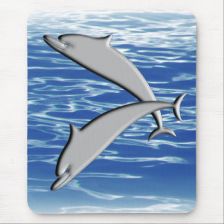 Dolphin Play Mouse Pad