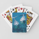 """Dolphin Playing Cards<br><div class=""""desc"""">Two full-color dolphins underwater on the backs of these playing cards.</div>"""