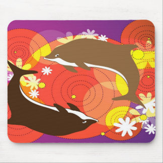 Dolphin Playing Mousepad