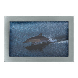 Dolphin Playing off Surfers Paradise Belt Buckle