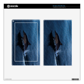 Dolphin Playing off Surfers Paradise Kindle Fire Skins