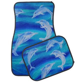Dolphin Pod Floor Mats