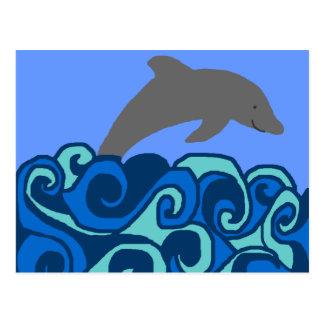 Dolphin  Postcard