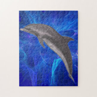 Dolphin Puzzle 10x14