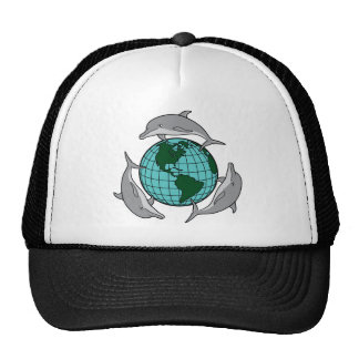 Dolphin Recycle Hats