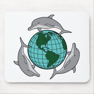 Dolphin Recycle Mouse Pad