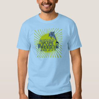 Dolphin riding the waves T-Shirt