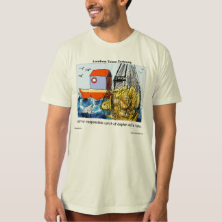 Dolphin-Safe Tuba 100% Organic Cotton Mens Tees