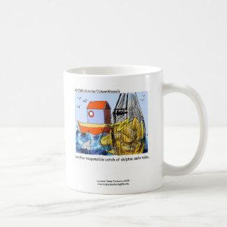 Dolphin Safe Tuba Funny Coffee Mug Coffee Mug