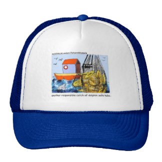 Dolphin Safe Tuba Funny Gifts Tees & Collectibles Trucker Hat