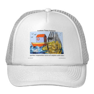 Dolphin-Safe Tuba Funny Gifts Tees Mugs & Cards Trucker Hat