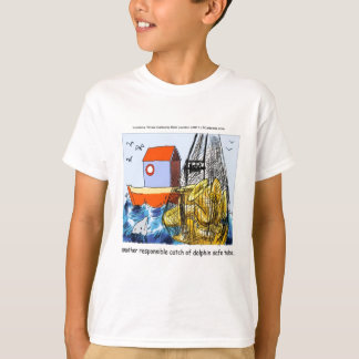 Dolphin-Safe Tuba Funny T-Shirt