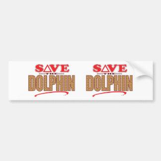 Dolphin Save Bumper Sticker