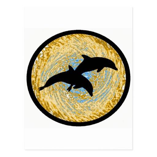 Dolphin Shore Breakers Postcards