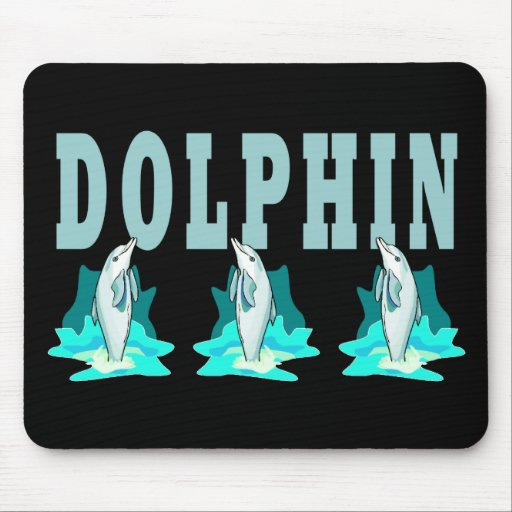 Dolphin Show Mousepad