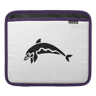 Dolphin Silhouette iPad Sleeve