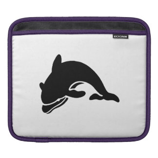 Dolphin Silhouette Sleeves For iPads