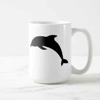 Dolphin Silhouette Mug