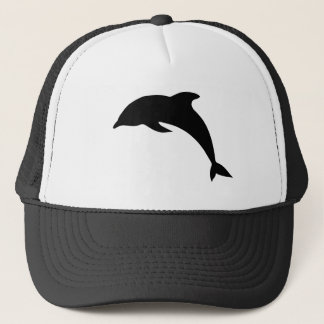 Dolphin Silhouette Trucker Hat
