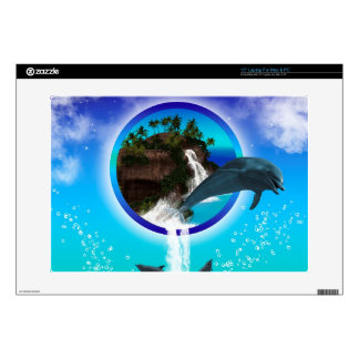 Dolphin Decal For Laptop