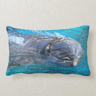 Dolphin Smiles Designer Pillow Pillow