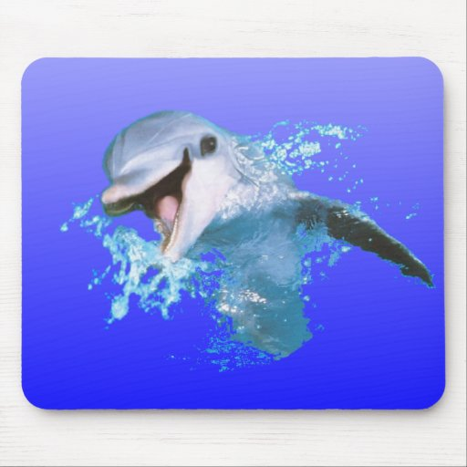 Dolphin Smiling Mousepad
