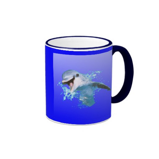 Dolphin Smiling Mugs