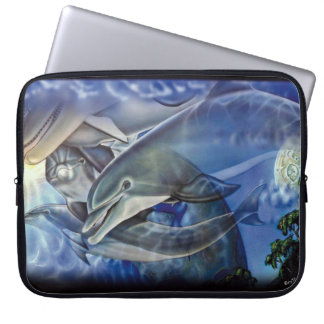 Dolphin Spirits Laptop Sleeve