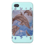 Dolphin Splash Covers For iPhone 4