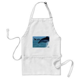 Dolphin Splash Destiny Beach Ocean Nature Adult Apron