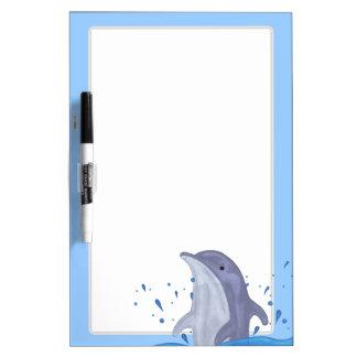 Dolphin Splash Dry Erase Board