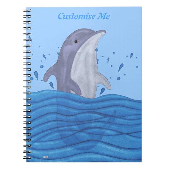 Dolphin Splash Notebook