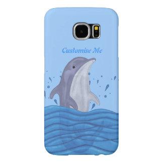 Dolphin Splash Samsung Galaxy S6 Case