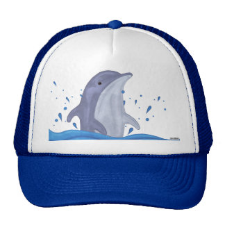 Dolphin Splash Trucker Hat